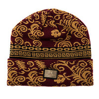 Crooks and Castles Beanie The Sultan in Burgundy