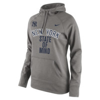 Nike Playoff Pack KO (MLB Yankees) Women's Performance Hoodie
