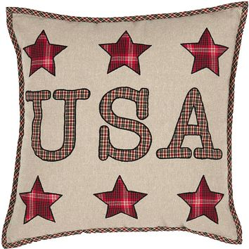 Liberty Stars USA Pillow