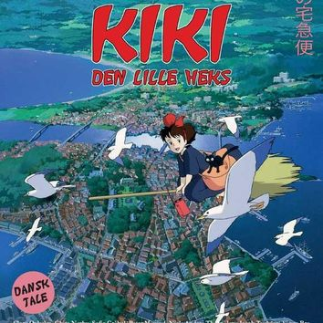 Kiki's Delivery Service (Danish) 11x17 Movie Poster (1989)