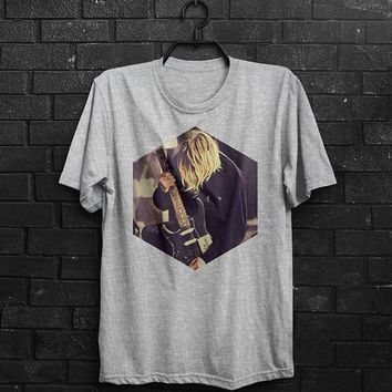 The Nirvana Shirt Men T Shirt Kurt Cobain T-Shirt