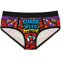"Women's ""Shark Week"" Period Panties by Harebrained!"