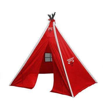 Chicago Bulls Teepee Play Tent