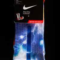Thesockgame.com — KD Thunder Galaxies - Custom Nike Elite Socks