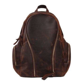 BLUESEBE HANDMADE GENUINE LEATHER BACKPACK JW10