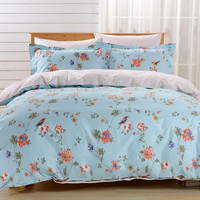 Duvet Cover Sheets Set, Dolce Mela Novara Queen Size Bedding