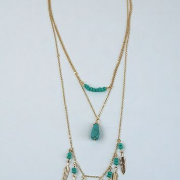 Jaimie Boho Layered Necklace