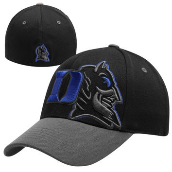 Top of the World Duke Blue Devils Idol 1Fit Hat - Black