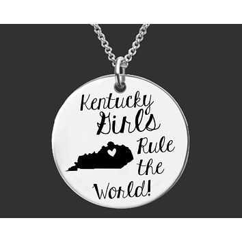 Kentucky Girls Necklace | Kentucky State