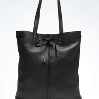 Portfolio Leather Rechargeable Smart Tote | Banana Republic