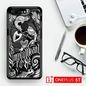 Jack And Sally Muertitos The Nightmare Before Christmas F0874  OnePLus 5T / One Plus 5T Case