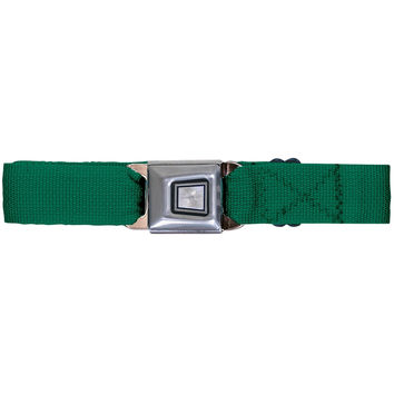 Ford Burst Seatbelt - Green Web Belt