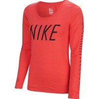Nike Women's Dry Graphic Long Sleeve Shirt | DICK'S Sporting Goods