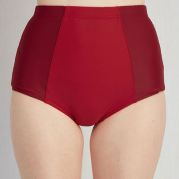 Power Behind the Tone Swimsuit Bottom | Mod Retro Vintage Bathing Suits | ModCloth.com