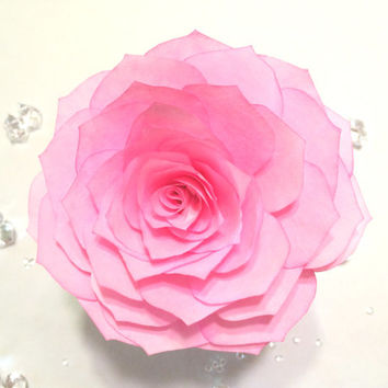 Lotus flowers hand made from filter paper in colors of your choice, Wedding cake flowers, Wedding floral decor, Quinceanera floral decor
