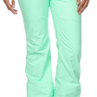 Aperture Girl Kaleidoscope Mint 10K Stretch Snowboard Pants