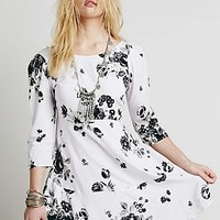 Free People Womens Eleanor Printed Mini
