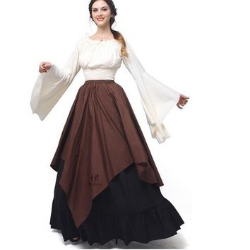 Women's Renaissance Medieval Dress - Performance & Stage Wear
