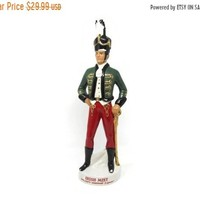 Liquore Galliano Decanter  Bottle Irish Soldier Bottle