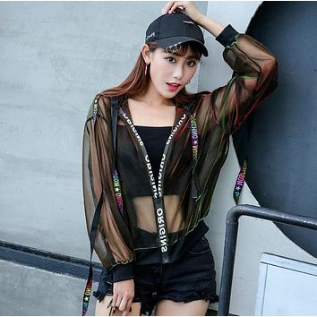 Summer Rave Festival Wear Clothes Holographic Burning man Hoodies Outfits Hologram Women