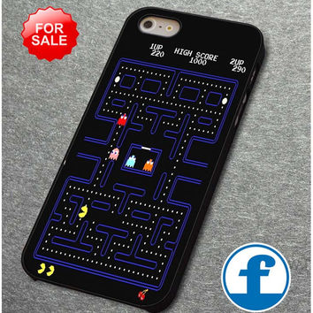 Pacman 80's Video Game for iphone, ipod, samsung galaxy, HTC and Nexus Phone Case