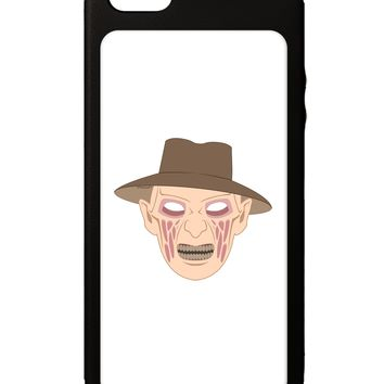 Scary Face With a Hat - Halloween iPhone 5C Grip Case