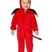 Baby Lil' Devil One Piece Costume - Spirithalloween.com