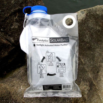 SolarBag Portable Water Purifier With Prefilter - 3.5 Liter