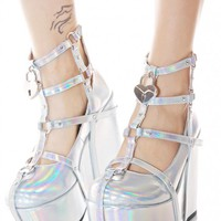 Neo Romance Holographic Wedges