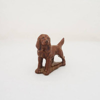 Wade Dog Figurine, Vintage Wade Red Setter Figurine, Dog Figurine