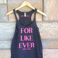Valley Girl Racer Tank - Eco-black
