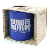 DUNDER MIFFLIN PAPER COMPANY office - funny - 11oz Ceramic Coffee Mug w/Gift Box, Royal