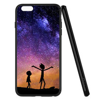 Rick and Morty Space Nebula iPhone 6 | 6S Case Planetscase.com
