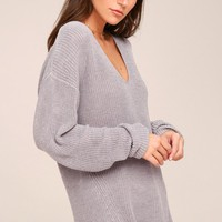 Gentle Fawn Tucker Grey Sweater