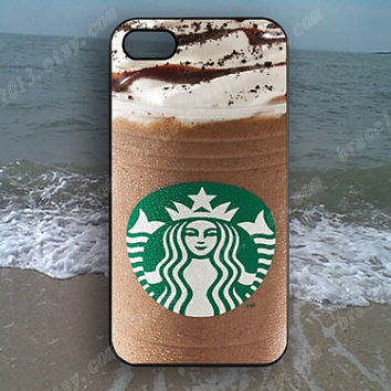 Art Starbucks Coffee ice cream loves Phone case,Samsung Galaxy S5/S4/S3,iPhone 4/4S case,iPhone 5 case,iPhone 5S case,iPhone 5C case,B51