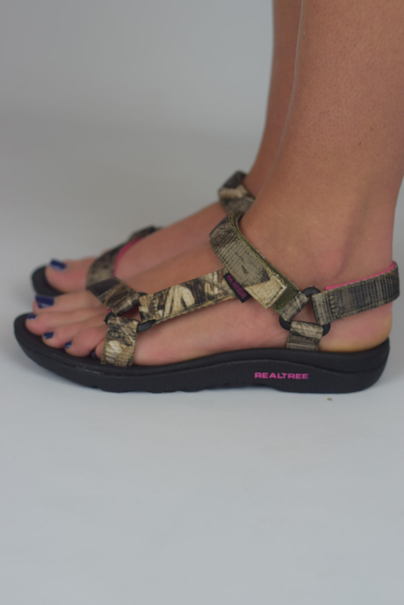 78ad6d92b90dfa Brook Sandal by Realtree  Pink Camo  from Shoe Craze