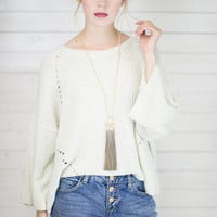 Orchid Open Knit Sweater