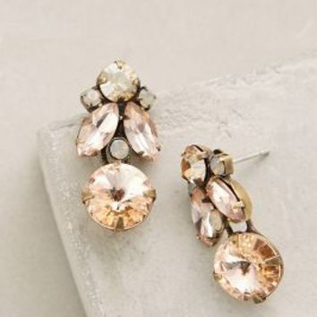 Sparked Sunset Drops by Anthropologie in Peach Size: All Earrings