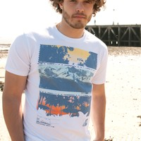 Surfanic Mens Corona Tshirt White