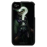 Riddler Illustration Case For The iPhone 4 from Zazzle.com