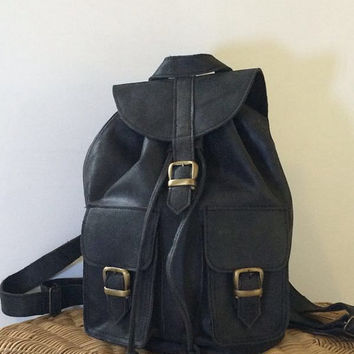 Distressed LEATHER BACKPACK, leather RUCKSACK, Hipster Backpack, leather rucksack, Leather bag