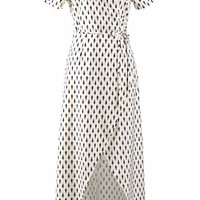 Cupshe Salty Seabreeze Printing Long Dress