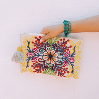 Frances Zip Pouch - Multi