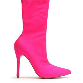 Don't Doubt Me Bootie - Pink