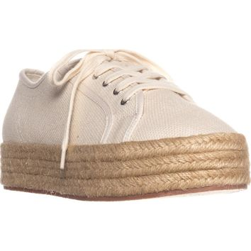 Indigo Rd. Zenth Espadrille Sneakers, Natural Multi, 9.5 US / 39.5 EU