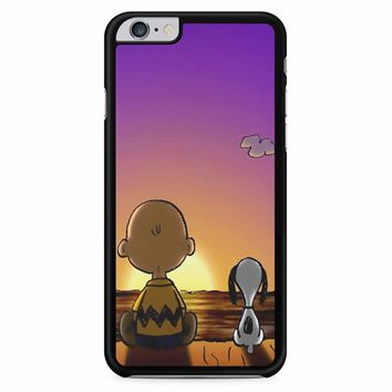 Snoopy And Charlie iPhone 6 Plus / 6S Plus Case