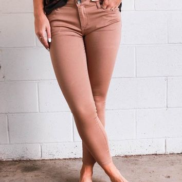 Kut from Kloth Connie Ankle Skinny Jean - Sand