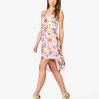 Floral Print Spaghetti Strap Dress