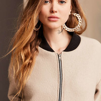 Urban Renewal Remade Cozy Bomber Jacket - Urban Outfitters