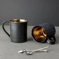 Bronze Glaze Ceramic Tea Mug